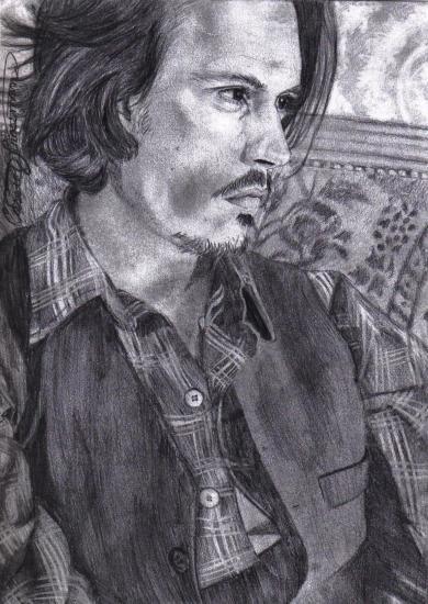 Johnny Depp by casshimee